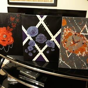 Other - Each painting $225 16x20 Custom Acrylic Painting